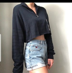 NWT! Oversized  Crop Sweater Top